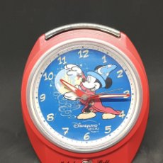 Despertadores antiguos: RELOJ DESPERTADOR - DISNEY PARIS - CAR125 - FUNCIONANDO. Lote 139855949
