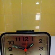 Despertadores antiguos: RELOJ CITIZEN-FUNCIONA. Lote 139903866