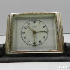 Despertadores antiguos: ANTIGUO RELOJ DESPERTADOR A CUERDA MARCA SLAVA AÑOS 60-70- VINTAGE. Lote 140481542