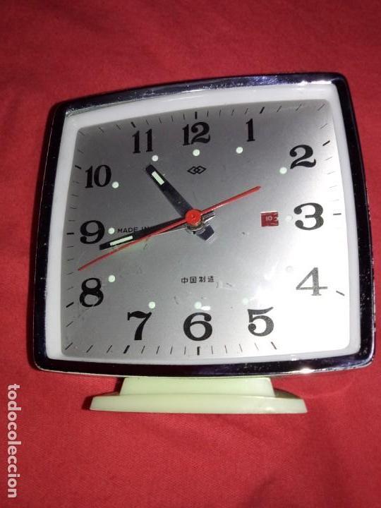 Despertadores antiguos: Despertador antiguo, made in China, para restaurar o repuestos - Foto 2 - 142830498