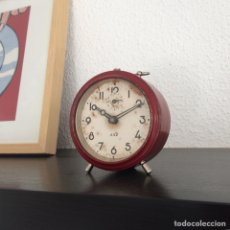 Despertadores antiguos: RELOJ DESPERTADOR FRANCÉS JAZ. Lote 143071220