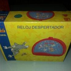 Despertadores antiguos: RELOJ DESPERTADOR TOM AND JERRY R.E2323L. Lote 143087214