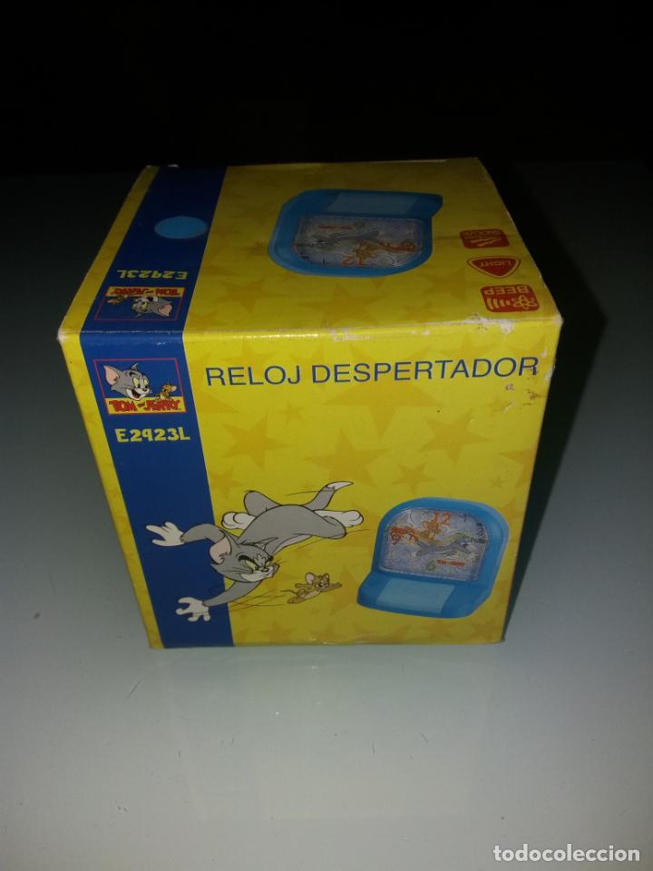 Despertadores antiguos: RELOJ DESPERTADOR TOM AND JERRY RF.E2923L - Foto 2 - 143087494