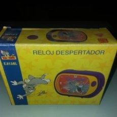 Despertadores antiguos: RELOJ DESPERTADOR TOM AND JERRY RF. E2138L. Lote 143087698