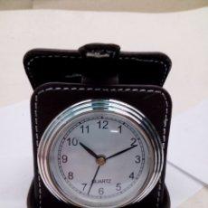 Despertadores antiguos: DESPERTADOR DE VIAJE QUARZ. Lote 143628609