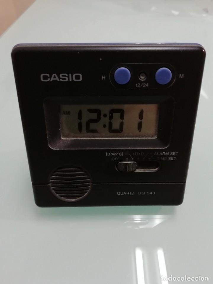 DESPERTADOR CASIO AÑOS 80 MOD DQ-540 (Relojes - Relojes Despertadores)