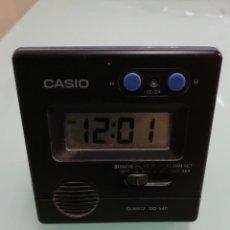 Despertadores antiguos: DESPERTADOR CASIO AÑOS 80 MOD DQ-540. Lote 143848178