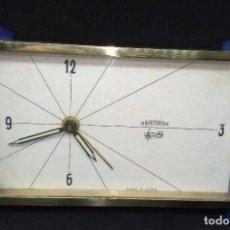 Despertadores antiguos: RELOJ DESPERTADOR DE CUERDA MARCA OBAYARDO. Lote 144891802