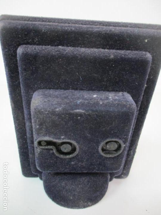 Despertadores antiguos: Reloj Despertador - Marca Wenk - Quartz - Made in Italy - Marco Forrado en Plata - Foto 4 - 145050390