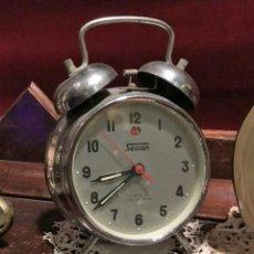 Despertadores antiguos: DESPERTADOR AÑOS 80.. Lote 145057362
