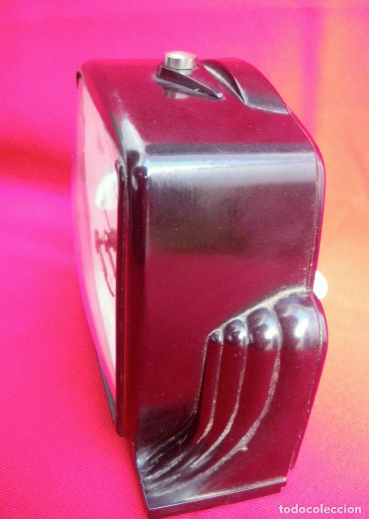 Despertadores antiguos: Reloj despertador estilo Art Deco marca CID - Foto 2 - 145973242