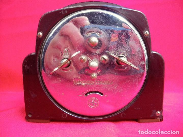 Despertadores antiguos: Reloj despertador estilo Art Deco marca CID - Foto 4 - 145973242