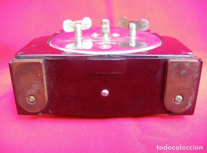 Despertadores antiguos: Reloj despertador estilo Art Deco marca CID - Foto 5 - 145973242
