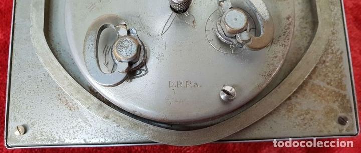 Despertadores antiguos: RELOJ DESPERTADOR DE SOBREMESA. MARCA UNION. METAL CROMADO. CIRCA 1960. - Foto 2 - 146077998