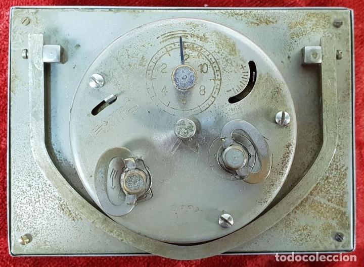 Despertadores antiguos: RELOJ DESPERTADOR DE SOBREMESA. MARCA UNION. METAL CROMADO. CIRCA 1960. - Foto 5 - 146077998