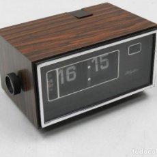 Despertadores antiguos: VINTAGE RELOJ DESPERTADOR JAPONES - RHYTHM - FLIP CLOCK . Lote 146140114