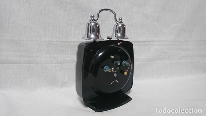 Despertadores antiguos: RELOJ DESPERTADOR POLARIS, CARGA MANUAL - Foto 2 - 146327430