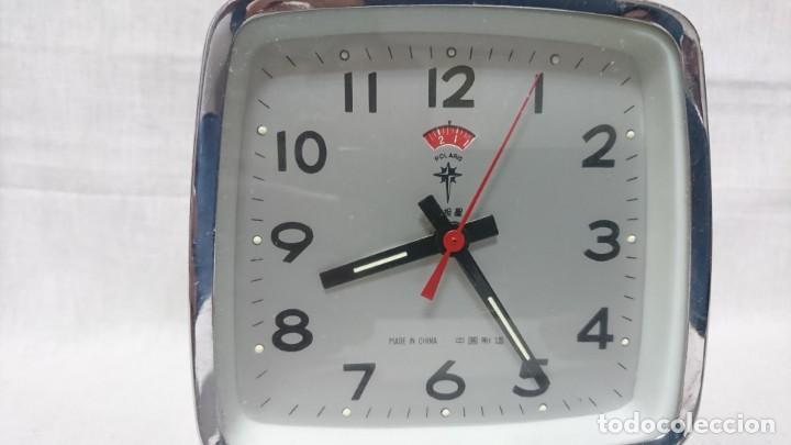Despertadores antiguos: RELOJ DESPERTADOR POLARIS, CARGA MANUAL - Foto 3 - 146327430