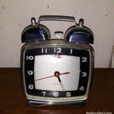 Despertadores antiguos: RELOJ DESPERTADOR - FUNCIONA. Lote 149835808