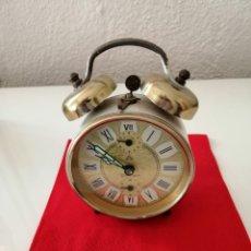Despertadores antiguos: RELOJ DESPERTADOR PATER CUERDA. Lote 146485488
