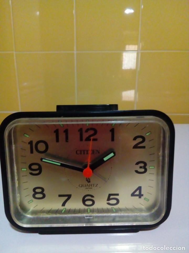 RELOJ CITIZEN-FUNCIONA (Relojes - Relojes Despertadores)
