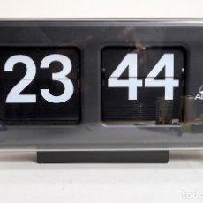 Despertadores antiguos: RELOJ DE OFICINA DE LÁMINAS. ALBA. Lote 148017966