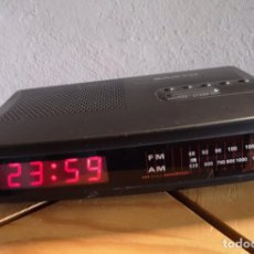 Despertadores antiguos: RADIO RELOJ DESPERTADOR. Lote 149250362