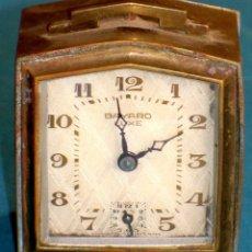 Despertadores antiguos: RELOJ DESPERTADOR BAYARD LUXE DE LOS AÑOS 40. ESTILO ART DECO. FUNCIONA PERFECTAMENTE.. Lote 149511046