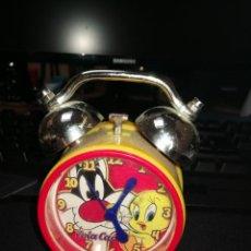 Despertadores antiguos: RELOJ DESPERTADOR COLACAO. Lote 149611646