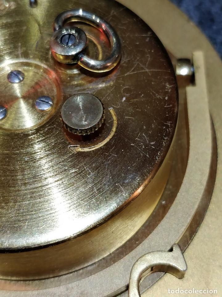 Despertadores antiguos: Reloj despertador CARTIER Paris, swiss made, 10x8.5cm, Funcionando. - Foto 9 - 150190222