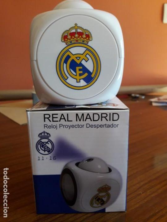 Despertadores antiguos: RELOJ DESPERTADOR REAL MADRID - Foto 3 - 150799770
