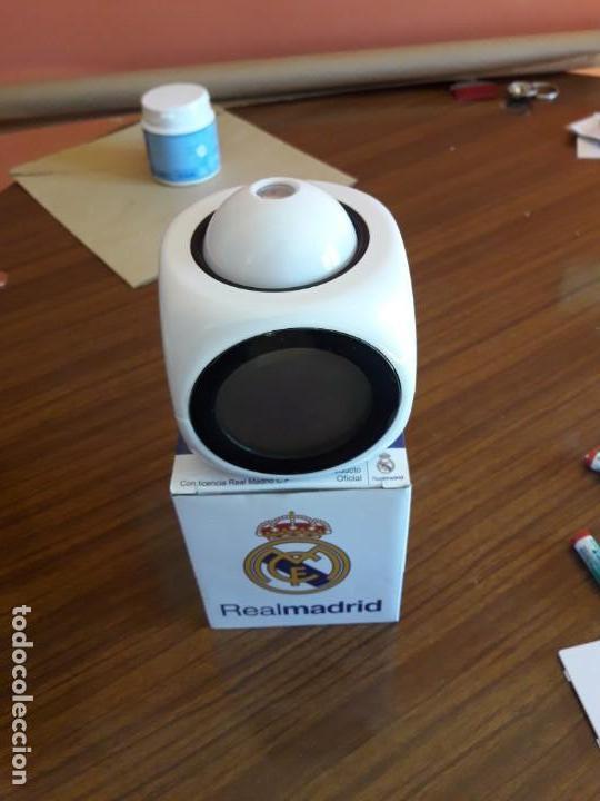 Despertadores antiguos: RELOJ DESPERTADOR REAL MADRID - Foto 4 - 150799770