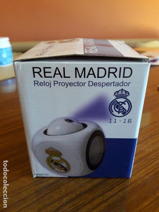 Despertadores antiguos: RELOJ DESPERTADOR REAL MADRID - Foto 5 - 150799770