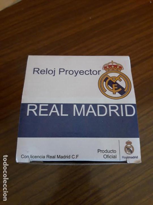 RELOJ DESPERTADOR REAL MADRID (Relojes - Relojes Despertadores)