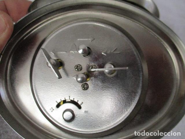 Despertadores antiguos: PRECIOSO DESPERTADOR VINTAGE DE IRON BUSINESS IB, PRODUCTOS DE CONFIANZA - FUNCIONA - Foto 7 - 152904306
