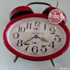Despertadores antiguos: RELOJ JERGER DESPERTADOR. Lote 153108168
