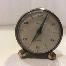 Despertadores antiguos: RELOJ DESPERTADOR BLESSING BAMBINO - FUNCIONA. Lote 153238818