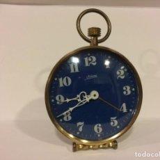 Despertadores antiguos: BONITO RELOJ DESPERTADOR KAISER - FUNCIONANDO. Lote 153850878