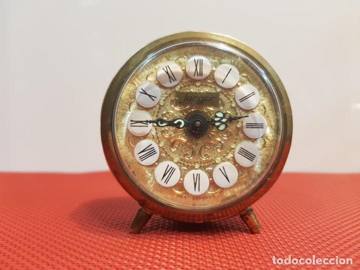 ANTIGUO DESPERTADOR JERGER MADE IN GERMANY (Relojes - Relojes Despertadores)