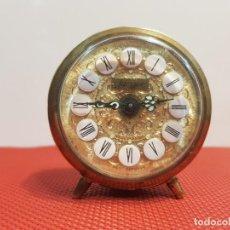Despertadores antiguos: ANTIGUO DESPERTADOR JERGER MADE IN GERMANY. Lote 153872594