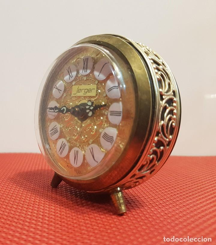 Despertadores antiguos: ANTIGUO DESPERTADOR JERGER MADE IN GERMANY - Foto 2 - 153872594