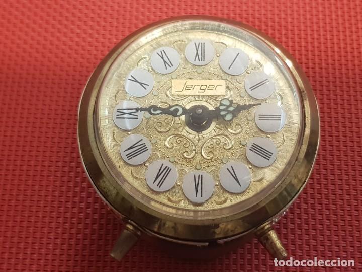 Despertadores antiguos: ANTIGUO DESPERTADOR JERGER MADE IN GERMANY - Foto 7 - 153872594