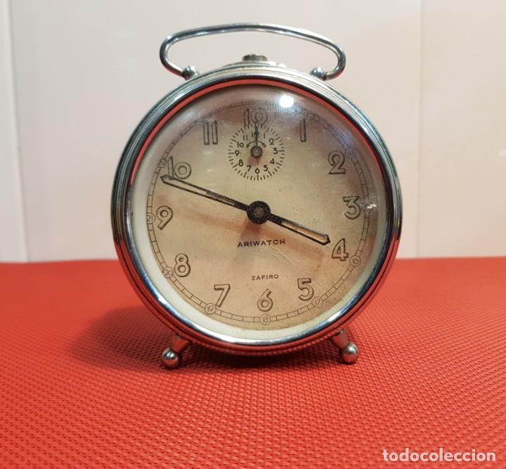 ANTIGUO DESPERTADOR ARIWATCH ZAFIRO (Relojes - Relojes Despertadores)