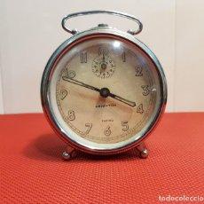 Despertadores antiguos: ANTIGUO DESPERTADOR ARIWATCH ZAFIRO. Lote 153880250