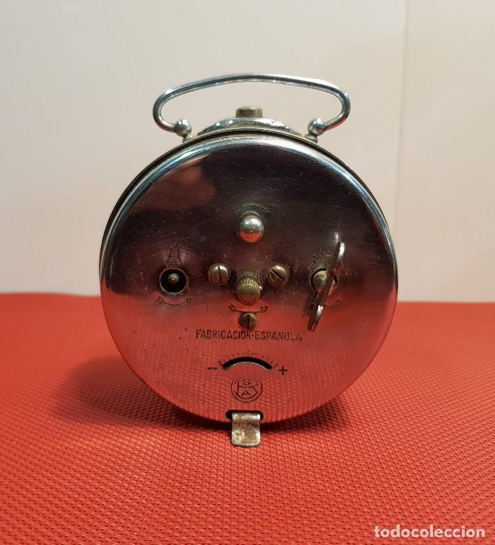 Despertadores antiguos: ANTIGUO DESPERTADOR ARIWATCH ZAFIRO - Foto 2 - 153880250