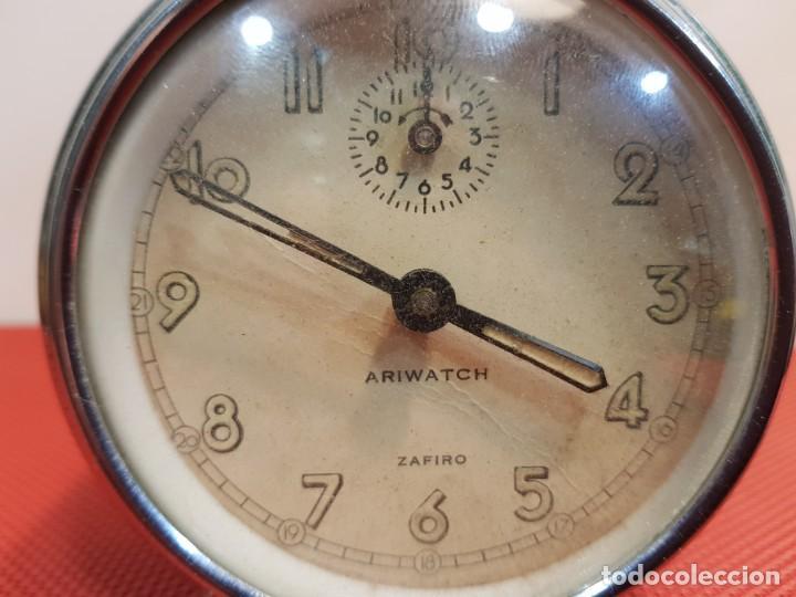 Despertadores antiguos: ANTIGUO DESPERTADOR ARIWATCH ZAFIRO - Foto 3 - 153880250