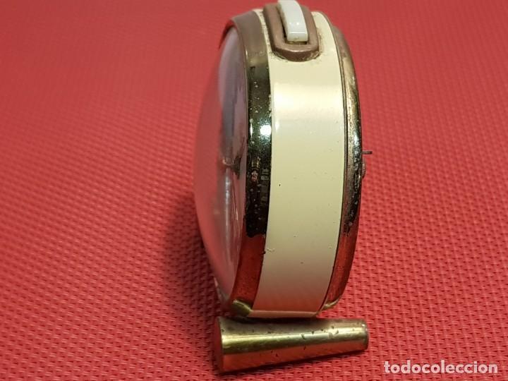 Despertadores antiguos: ANTIGUO DESPERTADOR ALBA - Foto 5 - 153880950