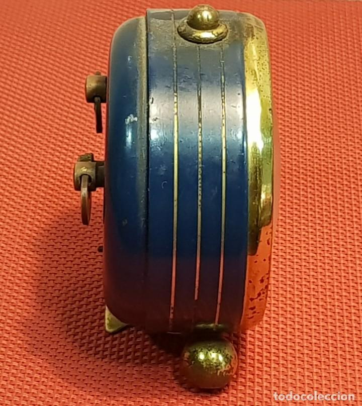 Despertadores antiguos: ANTIGUO DESPERTADOR MICRO 2 JEWELS - Foto 5 - 153881766