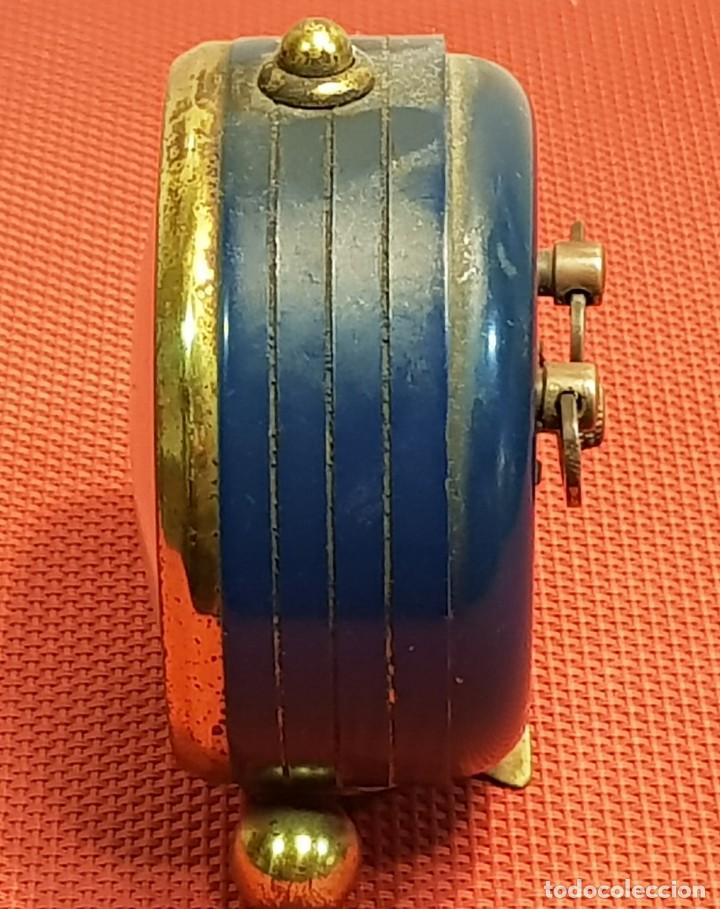 Despertadores antiguos: ANTIGUO DESPERTADOR MICRO 2 JEWELS - Foto 6 - 153881766