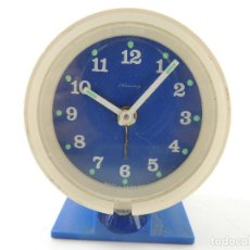 Despertadores antiguos: VINTAGE. RELOJ DESPERTADOR BLESSING CARGA MANUAL WEST GERMANY. AÑOS 60-70 . Lote 154108378